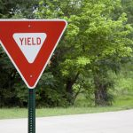yield accident